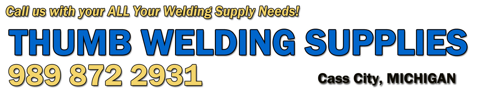 Welcome - Thumb Welding Supplies, Inc